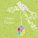 Postal en Pascua Imagenes de archivo
