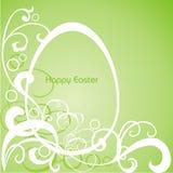 Postal en Pascua Imagen de archivo libre de regalías