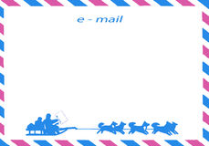 Postal envelope Royalty Free Stock Image