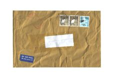 Postal envelope Stock Photography