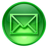 Postal envelope icon. Royalty Free Stock Photography