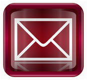 Postal envelope icon Stock Images