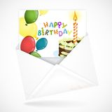 Postal Envelopes With Greeting Card Stock Photos
