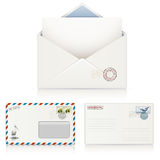 Postal Envelopes Royalty Free Stock Images