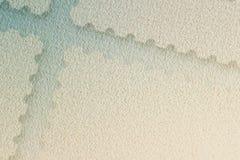 Postal filatélico del fondo abstracto, textura Con el lugar su texto, utiliza Concepto de desarrollo, writt Foto de archivo