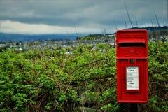 Postal local fotografía de archivo libre de regalías