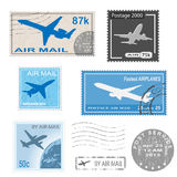 Postal mark Stock Images