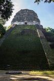 Postal Mayan ruins at Tikal, National Park. Traveling guatemala, Stock Photography