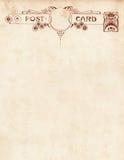 Postal Notecard del estilo de la vendimia Fotografía de archivo