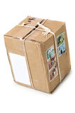 Postal package Stock Images