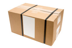 Postal Package stock photo
