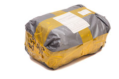 Postal package Royalty Free Stock Photo