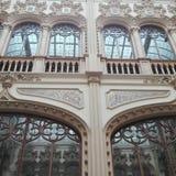 Postal Palace. Mexico City historic building royalty free stock photo