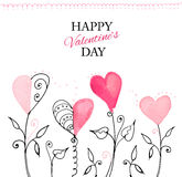 Postal para el día de la tarjeta del día de San Valentín s libre illustration