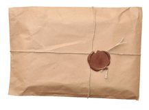 Postal parcel Royalty Free Stock Photography