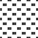 Postal parcel pattern vector Royalty Free Stock Photo