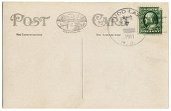 Postal a partir de 1911 Imagenes de archivo