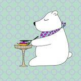 Postal poco oso Foto de archivo libre de regalías