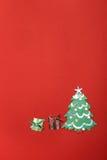 Postal por el Año Nuevo Foto de archivo libre de regalías