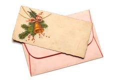 Postal retra Foto de archivo libre de regalías