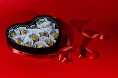 Postal romántica para el día del ` s de la tarjeta del día de San Valentín Foto de archivo libre de regalías