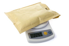 Postal scale Stock Photos