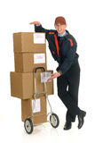 Postal service delivery Royalty Free Stock Photo
