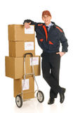 Postal service delivery Stock Image