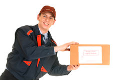 Postal service delivery stock images