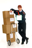 Postal service delivery Stock Photography
