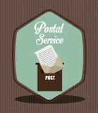 Postal service design Stock Photo