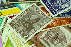 Postal stamps Royalty Free Stock Image