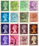 Postal stamps Stock Images