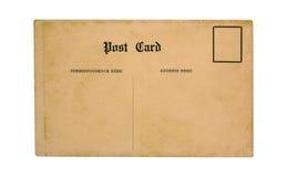 Postal vieja Foto de archivo libre de regalías