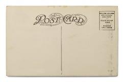 Postal vieja imágenes de archivo libres de regalías