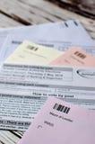 Postal voting London UK Stock Photos