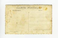 Postale de la carta Fotos de archivo libres de regalías