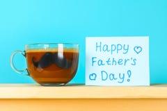 Postales en el tema del padre \ del 'día de s 17 de junio Fotos de archivo libres de regalías