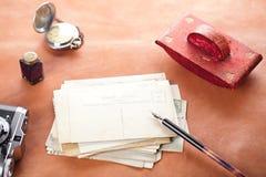 Postales retras de la foto Fotografía de archivo libre de regalías
