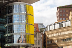 Postamer普拉茨在柏林,德国 库存图片