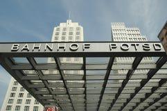 Postamer Platz Banhof Station, Berlin, Germany royalty free stock image