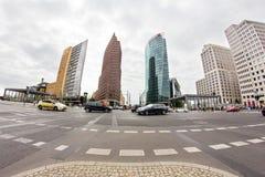 Postamer Platz en Berlín, Alemania Foto de archivo libre de regalías