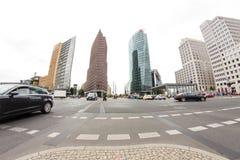 Postamer Platz en Berlín, Alemania Imágenes de archivo libres de regalías