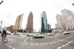 Postamer Platz en Berlín, Alemania Imagen de archivo