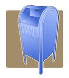 postaskdroppe stock illustrationer