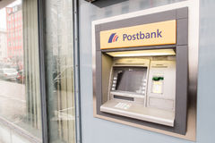 Postbank ATM Stock Image