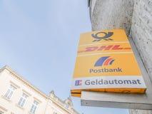 Postbank ATM Stock Photos