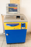 Postbank service terminal Royalty Free Stock Image