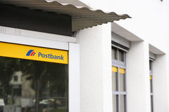 Postbank Royalty Free Stock Photos