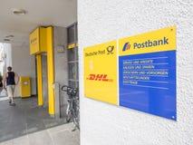 Postbank Royalty Free Stock Photography